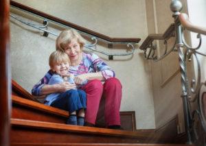 Бабушка с внуком, Семейная фотосессия