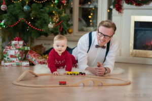 Папа и сын, Семейная фотосессия