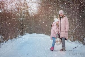 Мама и дочка, Семейная фотосессия